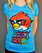 Angry Birds Nerdy Baby Tee