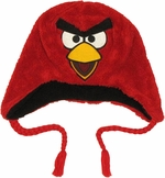 Angry Birds Red Plush Lapland Beanie