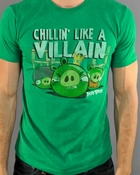 Angry Birds Villain T Shirt Sheer