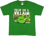 Angry Birds Villain Youth T Shirt