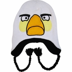 Angry Birds White Lapland Beanie