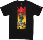 Animal Man Evolve or Die T Shirt