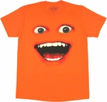 Annoying Orange Face T Shirt Sheer