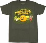 Annoying Orange Team T Shirt Sheer