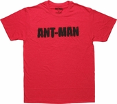 Ant-Man Ant Covered Name T-Shirt Sheer