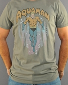 Aquaman Swim T Shirt Sheer