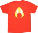 Aquaman Symbol T Shirt