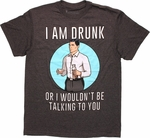 Archer Drunk Talking T Shirt