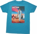 Archer Vice Poster T Shirt Sheer