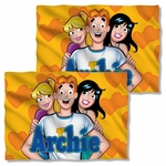 Archie Comics Love Triangle FB Pillow Case