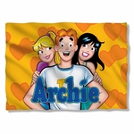 Archie Comics Love Triangle Pillow Case