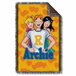 Archie Comics Love Triangle Throw Blanket