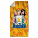 Archie Comics Love Triangle Towel