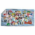 Archie Comics Panels Towel