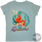 Ariel Swimming Youth T-Shirt