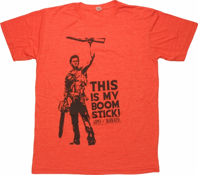 Army of Darkness Boom Stick T-Shirt Sheer