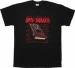Army Of Darkness Necronomicon T Shirt