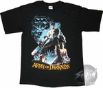 Army of Darkness Poster Skull T-Shirt