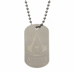 Assassins Creed Black Flag Etched Dog Tag