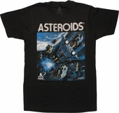 Atari Asteroids Box Art T Shirt Sheer
