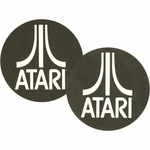 Atari Logo Turntable Slipmat Set