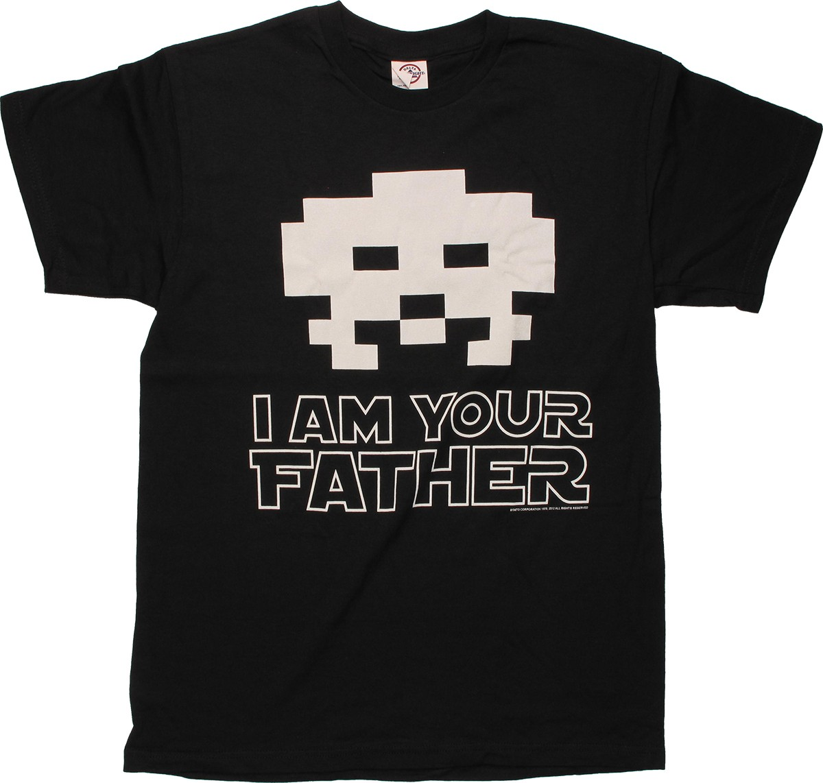 Atari Space Invaders Alien Father T Shirt