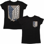 Attack on Titan Survey Corps Logo Baby Tee
