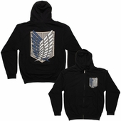 Attack on Titan Survey Corps Logo Hoodie