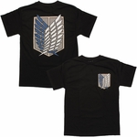 Attack on Titan Survey Corps Logo T Shirt
