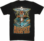August Burns Red Anchor T Shirt Sheer