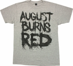 August Burns Red Big Name T Shirt Sheer