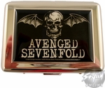 Avenged Sevenfold Skull Card Case