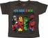 Avengers 4 Friend Color Charcoal Toddler T Shirt