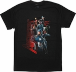 Avengers Age of Ultron Heroes T-Shirt