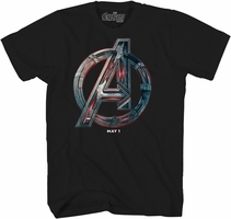 Avengers Age of Ultron Logo Exclusive T-Shirt