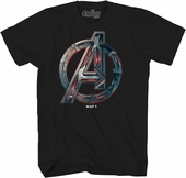Avengers Age of Ultron Logo T-Shirt