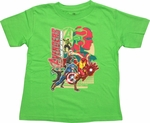 Avengers Age Ultron Reassemble Toddler T-Shirt