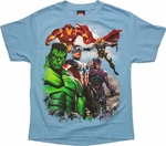 Avengers Air Support Youth T Shirt
