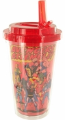 Avengers Assemble Flip Straw Travel Cup