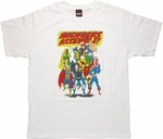 Avengers Assemble Shout Bubble T Shirt
