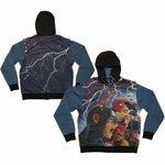 Avengers AvX Sublimated Overlay Convertible Vest Hoodie