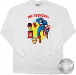 Avengers Captain Classic Long Sleeve T-Shirt