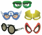 Avengers Cartoon Eyes Costume Glasses
