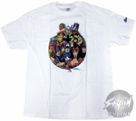 Avengers Circled Ten T-Shirt