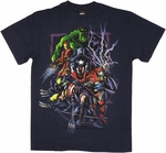 Avengers Color Sketch T Shirt