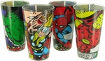 Avengers Comic Wrap Pint Glass Set
