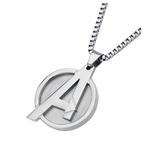 Avengers Logo Stainless Steel Necklace