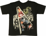 Avengers Movie A Frame Juvenile T Shirt