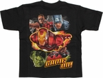 Avengers Movie Game On Juvenile T Shirt