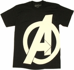 Avengers Movie Logo T Shirt